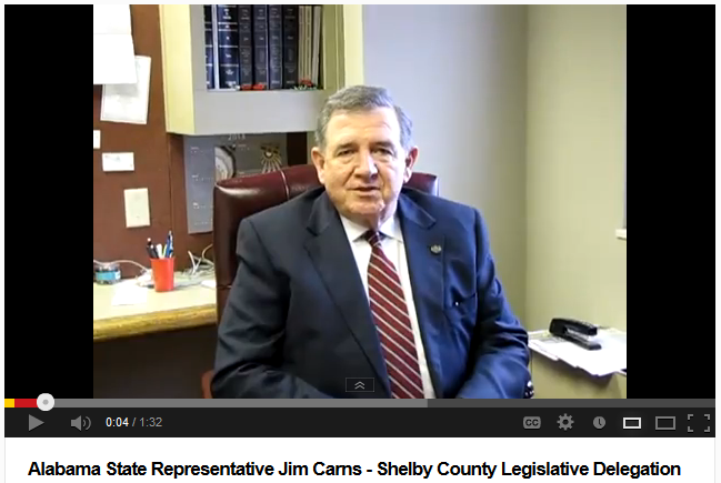 Shelby County Representative Jim Carns Interview