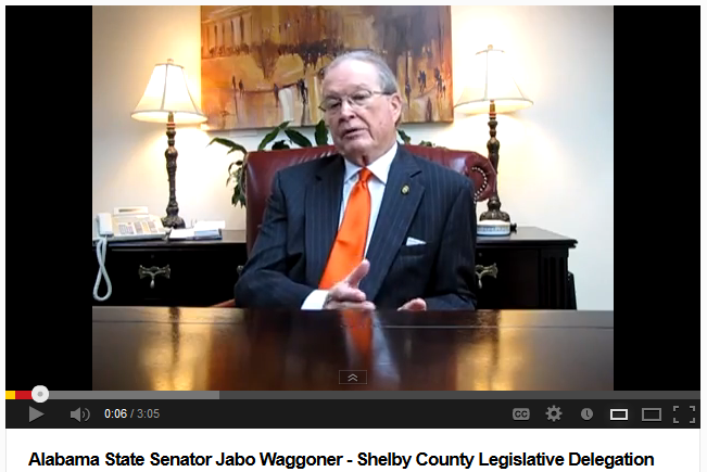 Shelby County Senator Jabbo Waggoner Interview